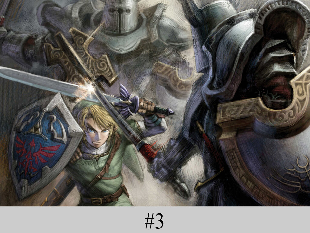 """Legend of Zelda Breath Wild Link 36/"""" x 24/"""" Large Wall Poster Print Anime NEW #1"""