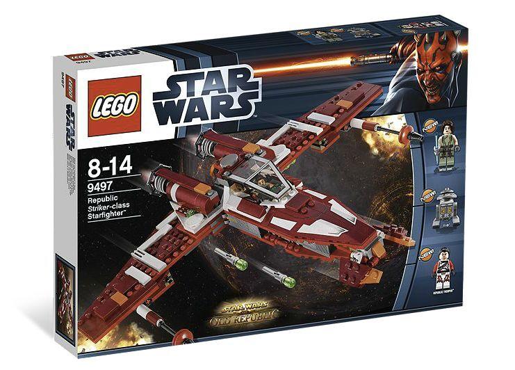 LEGO ® estrella guerras ™  9497 Republic Striker-classe DIAVOLO NUOVO OVP nuovo 2nd Choice  bellissima