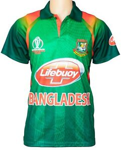 0326003b8 Image is loading BANGLADESH-CRICKET-TEAM-SUPPORTER-JERSEY-OR-SHIRT-2019-