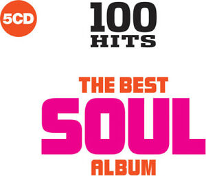 Various-Artists-100-Hits-Best-Soul-Album-Various-New-CD-Boxed-S