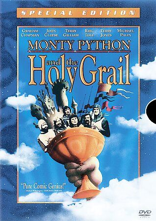 Monty Python And The Holy Grail Special Edition With 3D Slipcover - $3.68