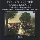 Richter/kohout - Franz X. Richter Karel Kohout Symphonies CD