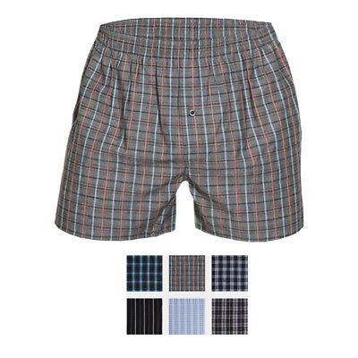 Aufrichtig Ott-tricot Herren 3-er Pack Boxershorts American Style 100% Baumwolle O-6735 Farben Sind AuffäLlig