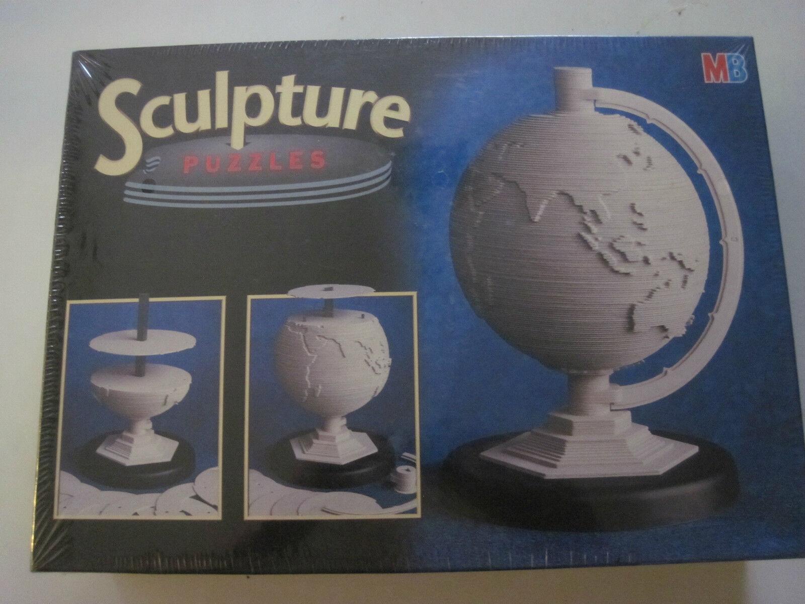 MB 15420 3d disques puzzle sculpture puzzles  LE GLOBE  neuf emballage d'origine