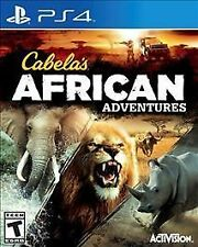 CABELAS AFRICAN ADVENTURES PS4 NEW! HUNT, HUNTING, RHINO, LION, BUFFALO, SAFARI