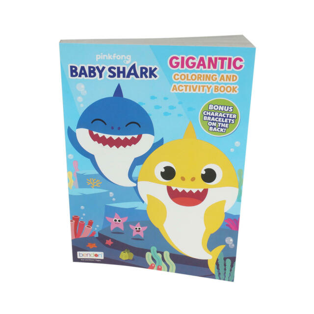 Pinkfong Baby Shark Gigantic Coloring and Activity Book ...