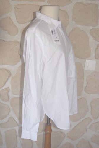 Chemise Taille Neuve M Blanche Closed Marque tiquet rqFprw7ExZ
