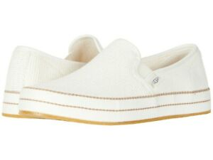 2f9432f9b05 Details about Women's Shoes UGG BREN Cotton Mesh Slip On Sneakers 1020090  NATURAL