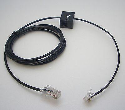 6-Pack Plantronics Telephone Interface Cable for Savi CS500 W700 WO200 Wireless