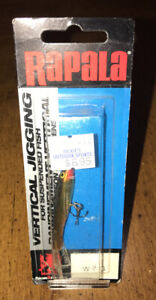 RAPALA-2-Inch-Vertical-Jigging-W7G-Fishing-Lure-New-in-Package-Red-Tip