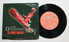 "THE DANDY WARHOLS Little Drummer Boy 7"" Capitol Rec 7PRO-7087 US 1997 VG++"