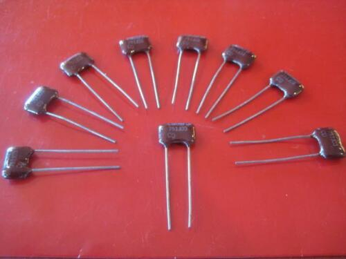 750pF 500v CM06 RADIAL SILVER DIPPED MICA Capacitors Qty 10 *** NEW ***