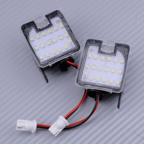 2pcs LED Error Free Side Mirror Puddle Light For Ford Mondeo MK4 IV 2007-2014