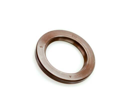 EAI VITON Metric Oil Shaft Seal 24x47x7mm Dust Grease SC Single Lip w// Spring