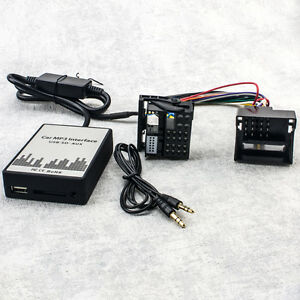 usb aux mp3 adapter bmw e39 z4 e85 e83 x5 e53 business sd. Black Bedroom Furniture Sets. Home Design Ideas