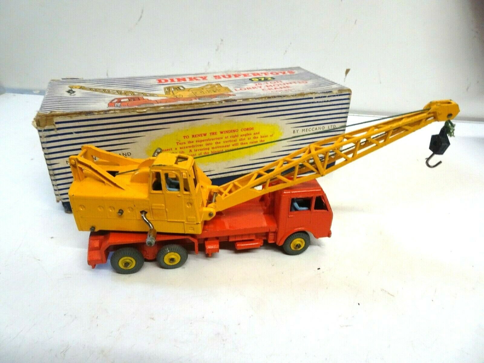 Dinky Supertoys 972 20-Ton Lorry Mounted Crane 'Coles' Boxed