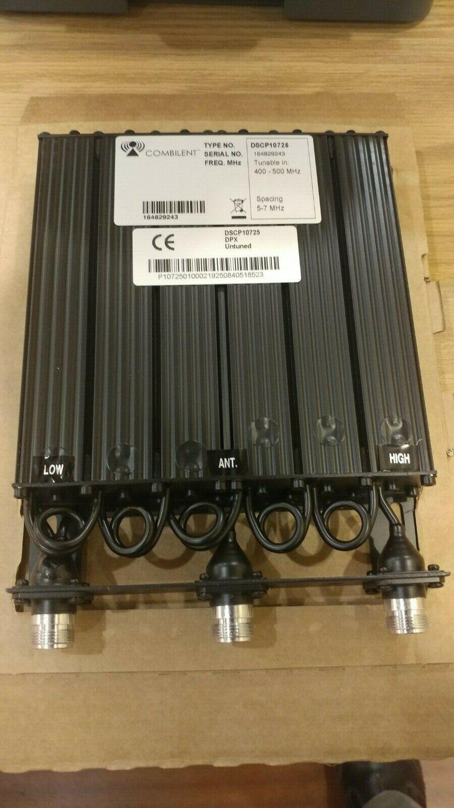 Motorola Combilent UHF Duplexer 400-500 MHz. Buy it now for 295.00