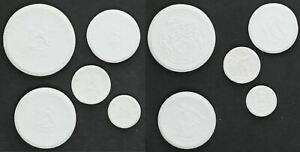 Meissen Porcelana Monedas, 30Pf-20M, 1921 Prfr. 57517