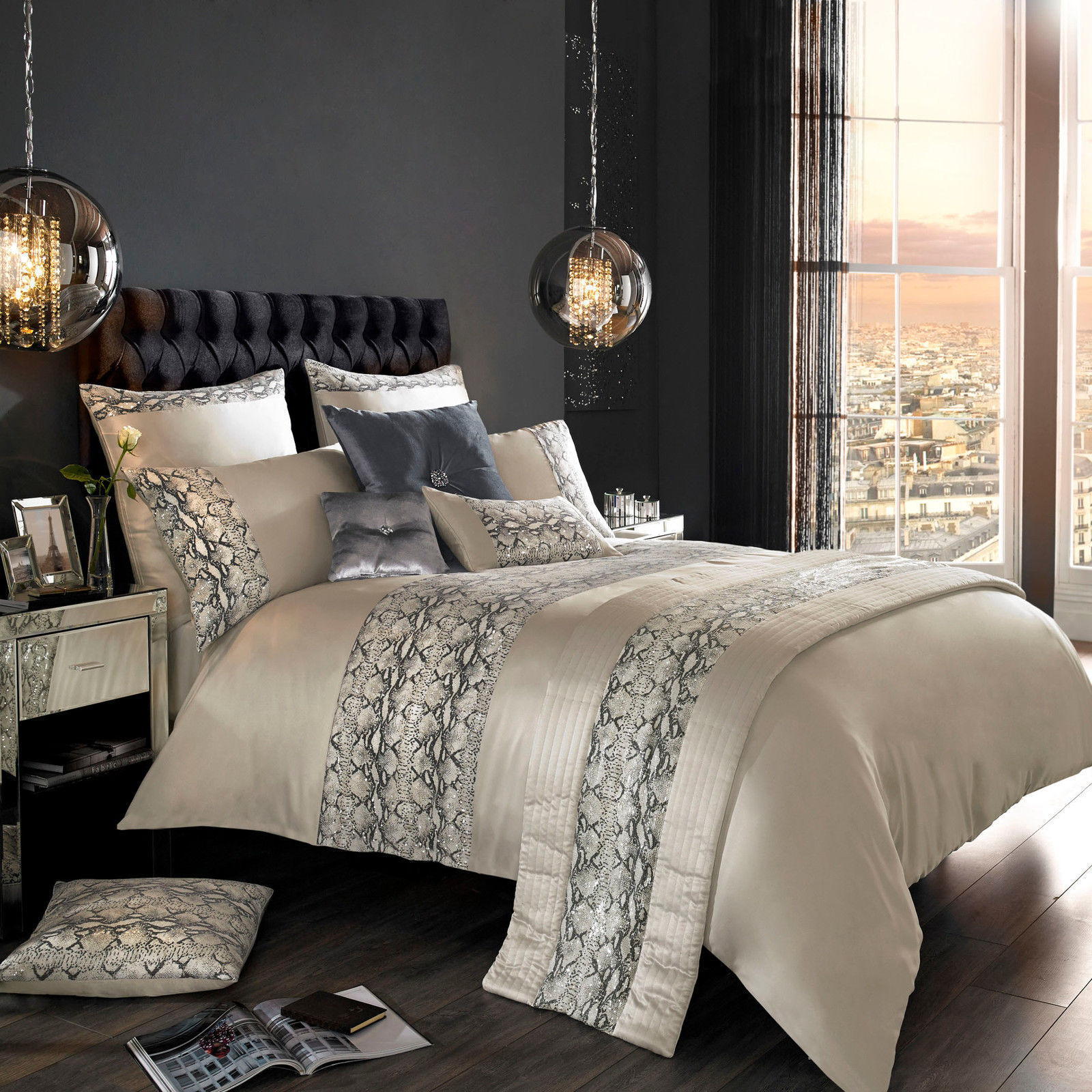 Adira Pebble Bedlinen by Kylie Minogue At Home... Lowest Price + Free&Fast Del