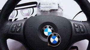 Genuine Bmw Steering Wheel Emblem 45mm Adhesive 1 3 5 6 7