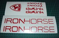 DW Link Bike Stickers Decals Iron Horse Pivot MTB Racing 7Point DH Dirt Forks