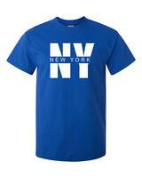 New I Love NY New York I heart New York T-shirt Tee Yankees Fan Men's NYC