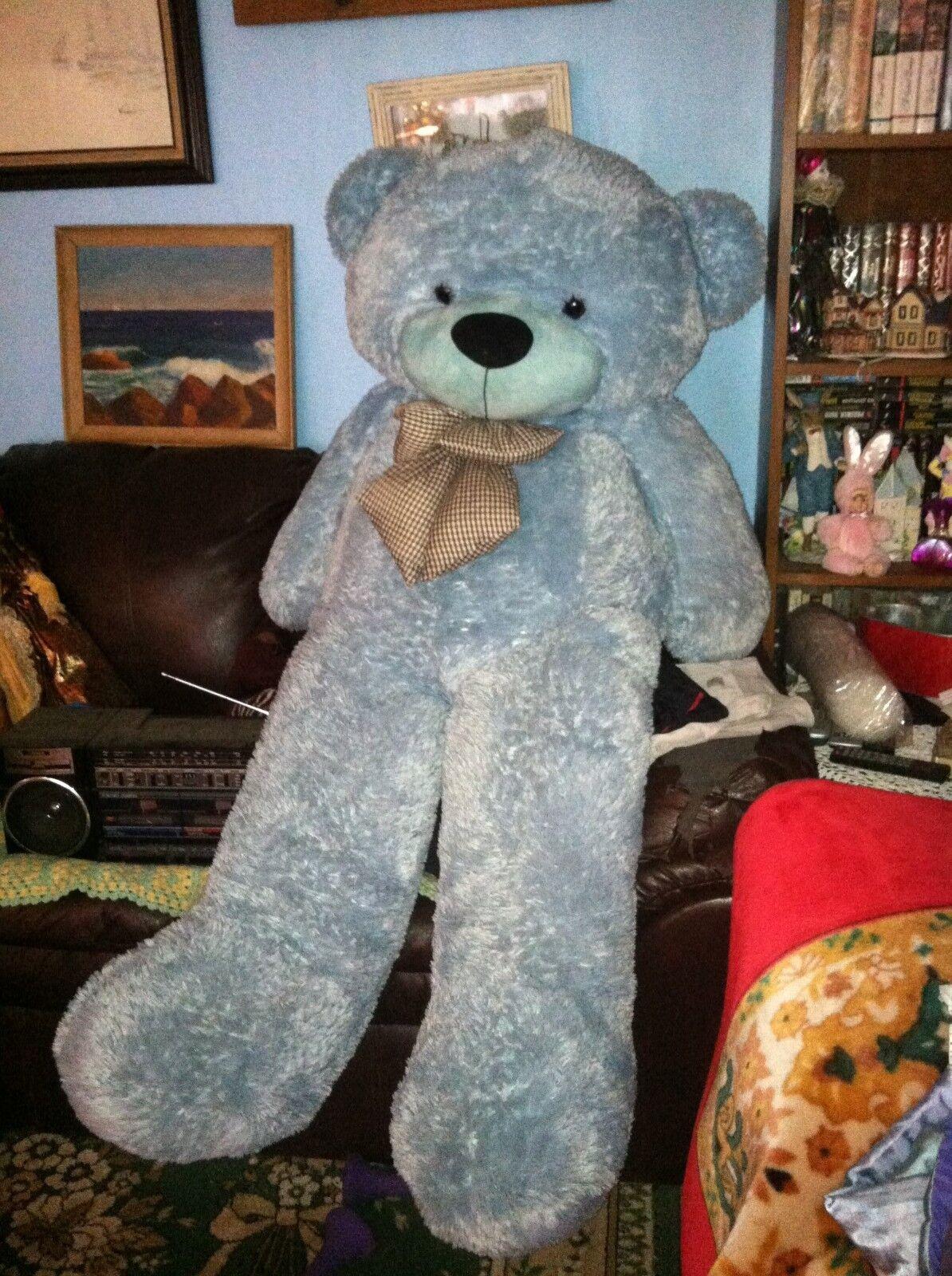 GiANT TEDDY BEAR 4 FETT REAL JUMBO Fylld Animal leksak tillverkad i USA