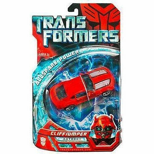 TRANSFORMERS_CLIFFJUMPER figure_Exclusive Limited Edition_Deluxe Class_New & MIP