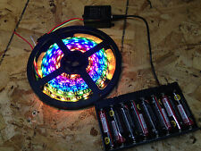 Battery Powered LED DREAM Strip Kit - 80 Modes - 2811 5050 with Remote 8 ft