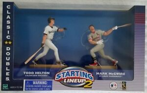 Starting Lineup 2 Classic Doubles Todd Helton and Mark McGwire