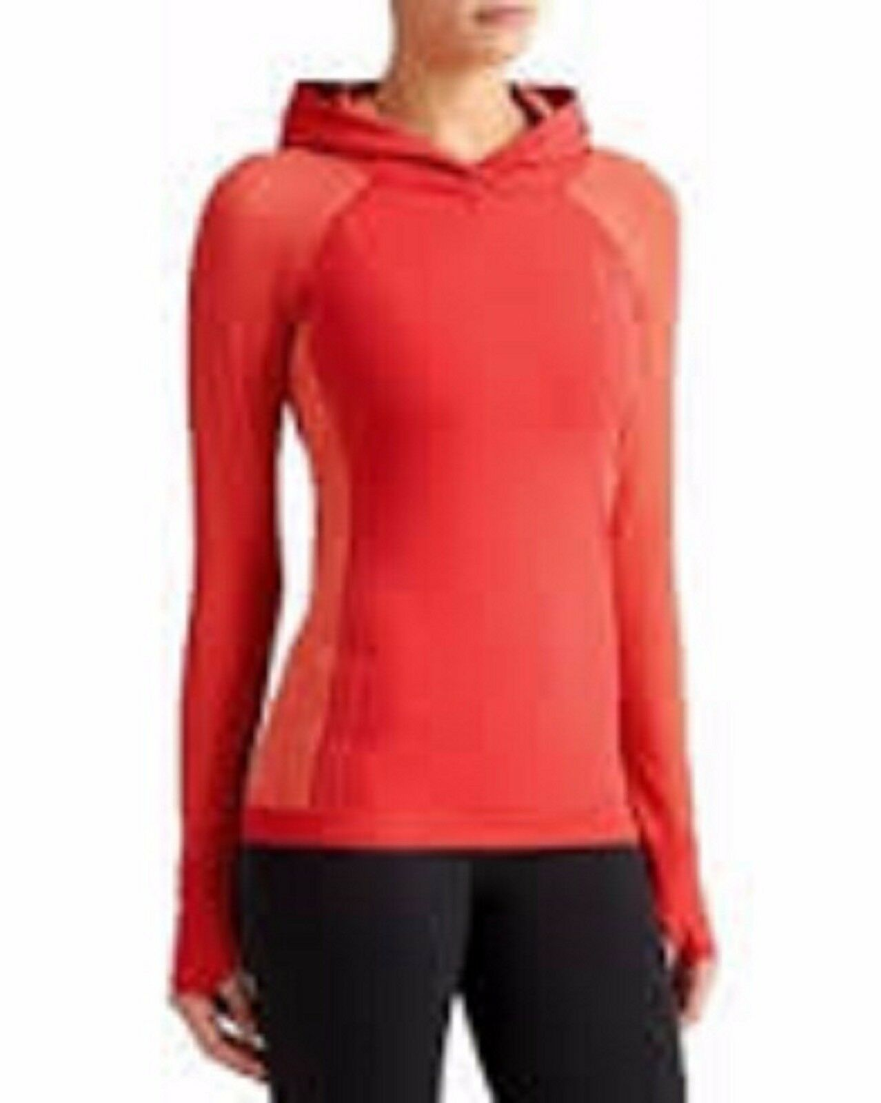 ATHLETA Neothermal Hoodie, NWT, Size Medium, Red Delicious, Winter Training