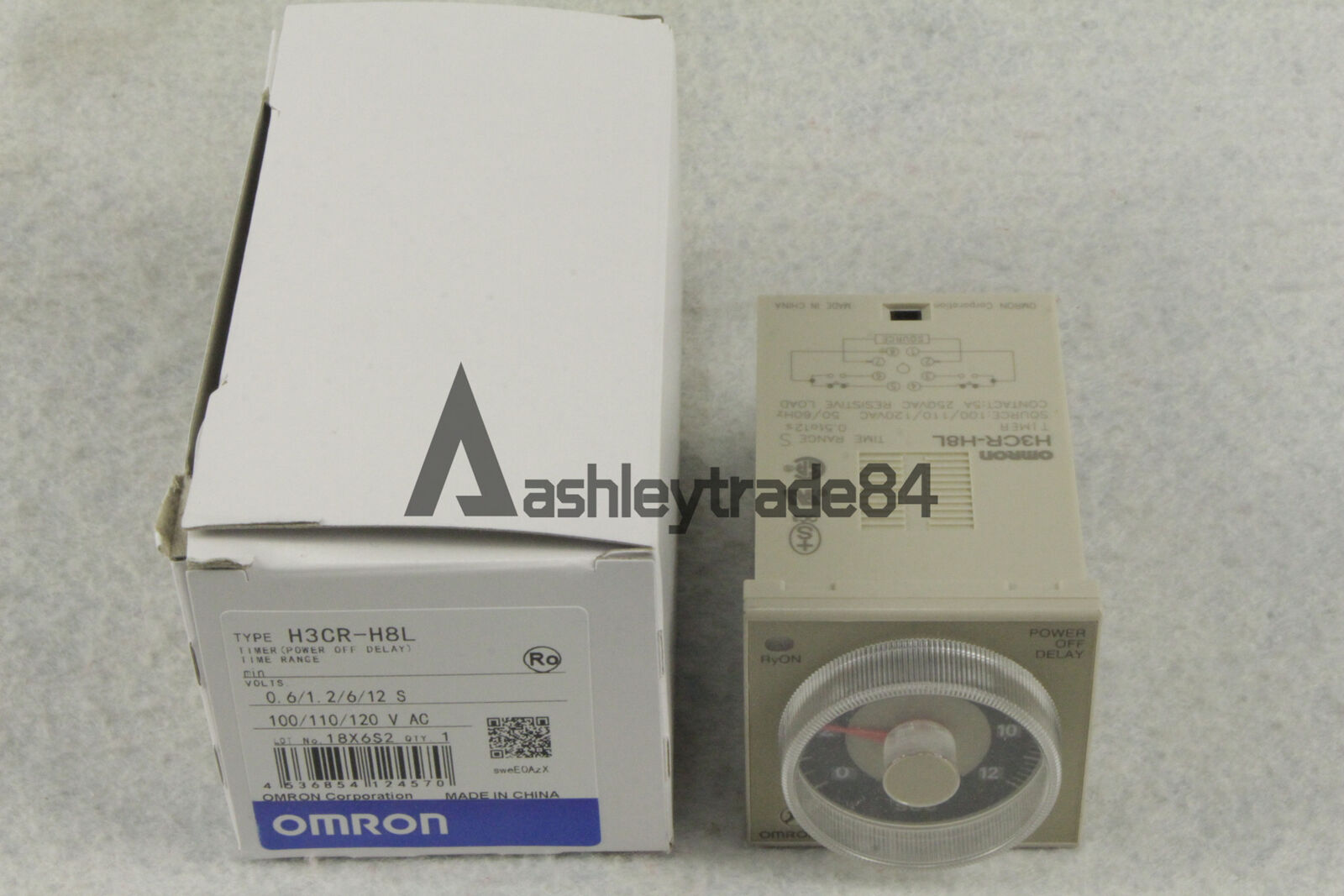 Omron H3CR-H8L Timer Power OFF Delay 100-120VAC NEW IN BOX
