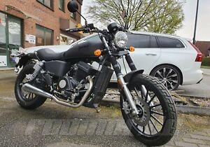 JUNAK M 11 CAFE 125 ccm CRUISER BIKE, MOTORRAD EURO 4, 2