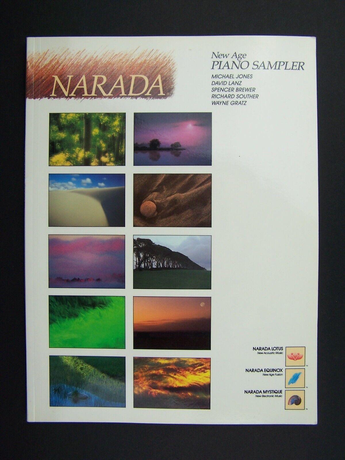 Narada New Age Piano Sampler Paperback