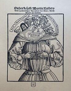 Flugblatt Reformation