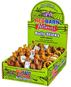 red barn bully stick springs 25 count ebay. Black Bedroom Furniture Sets. Home Design Ideas