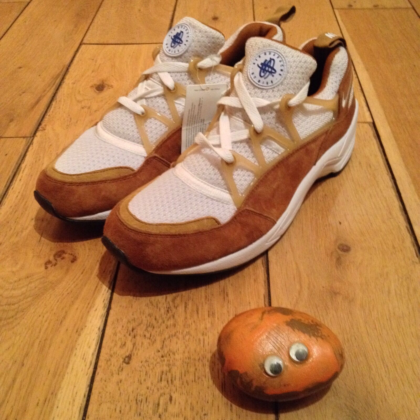 Nike Air Huarache Light Dark Curry Weiß Wheat 2015 2015 2015 Sample UK8 US9 EU42.5 JP27 aa0806