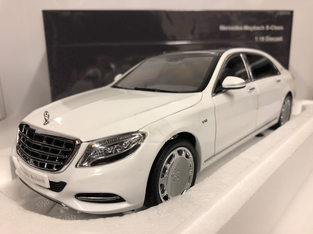 Almost Real 820101 Mercedes Maybach S-CLASS 2016 Diamant Weiß 1 18