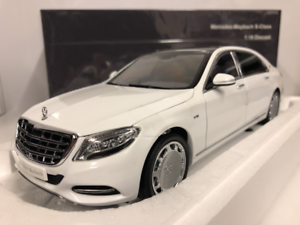 Almost Real 820101 Mercedes Maybach S-Class 2016 Diamond White 1 18