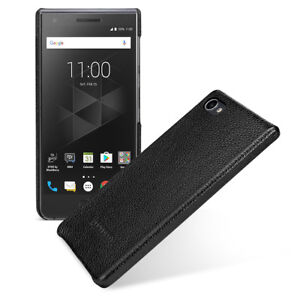 new arrival fed5a 660c6 Details about for BlackBerry Motion TETDED Genuine Leather Back Cover Snap  Hard Shell Case