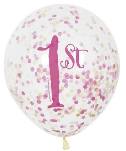 1st First Happy Birthday Balloons Children/'s Birthday Party Decorations Air Fill