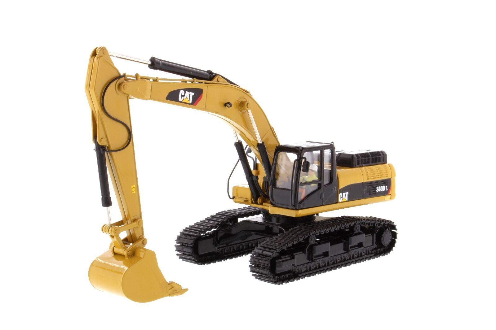 Caterpillar® 1 50 scale Cat 340D L Hydraulic Excavator - Diecast Masters 85908