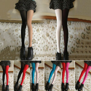 9b6eb66eb Image is loading Women-Nylon-Velvet-Spandex-Opaque-Pantyhose-Tights- Stockings-
