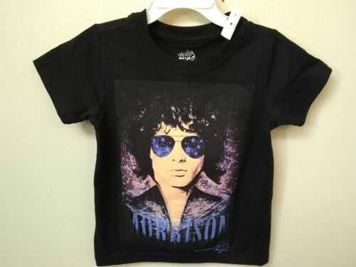 Toddler Jim Morrison The Doors T‑Shirt Black Size 2T Fast Shipping!