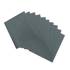 QTY-10-600-Grit-Wet-amp-Dry-Sheets-Abrasive-Sandpaper-Metal-Varnish-Sanding