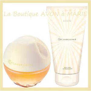 Lot Eau De Parfum Incandessence Creme Corps De Chez Avon Neuf Ebay