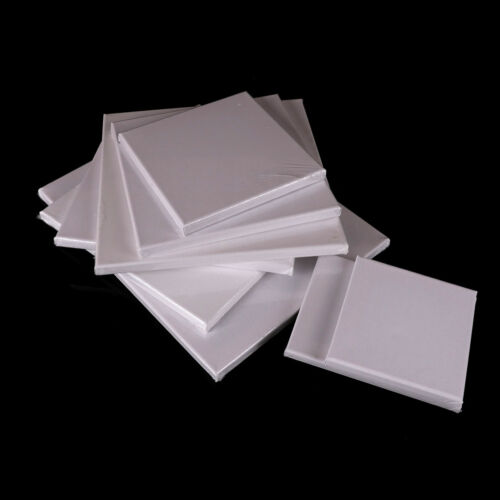 Blank Square Artist Canvas Wooden Board Frame For Primed Oil Acrylic Paint#B xPL