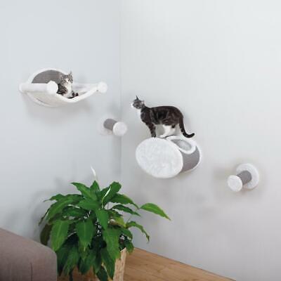 Wall Mounted Cat Perch Lounging Set Pet