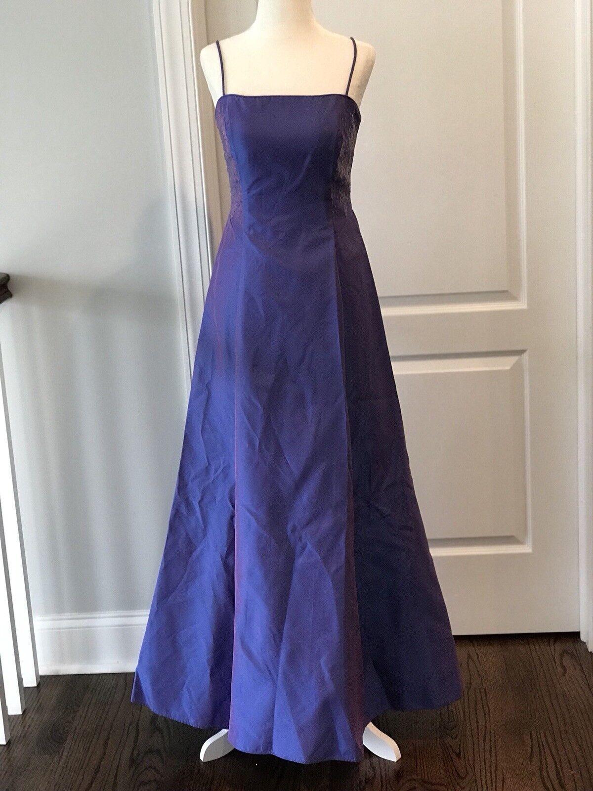 Zum Zum By Niki Livas Prom Dress Evening Gown Purple Size 5 Designer Prom Dress