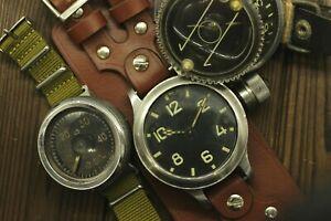 Vintage Set DEPTH GAUGE G5, KHM ZChZ Compass, Deep Diver Zlatoust Watch 191Chz